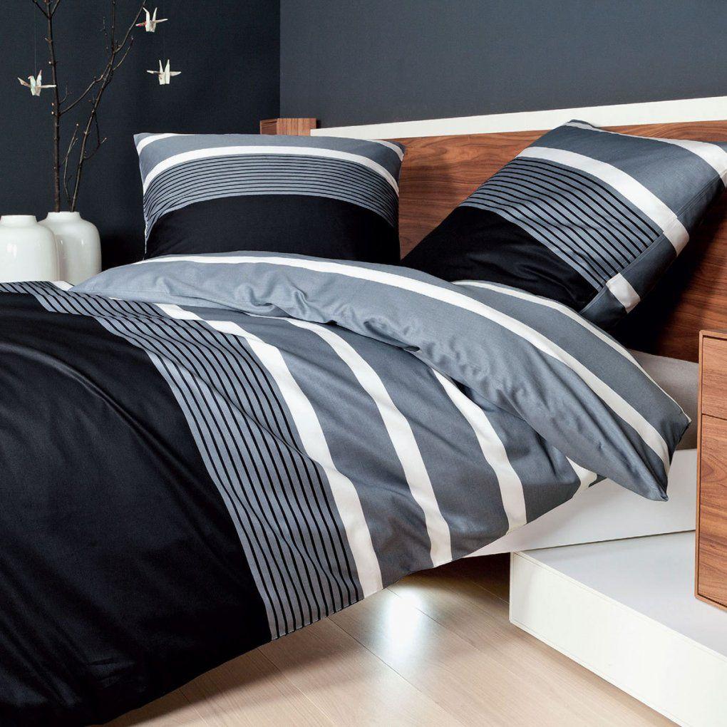 Janine Feinbiber Bettwäsche Davos 65030 Silber Günstig Online Kaufen von Bettwäsche Biber 240X220 Photo