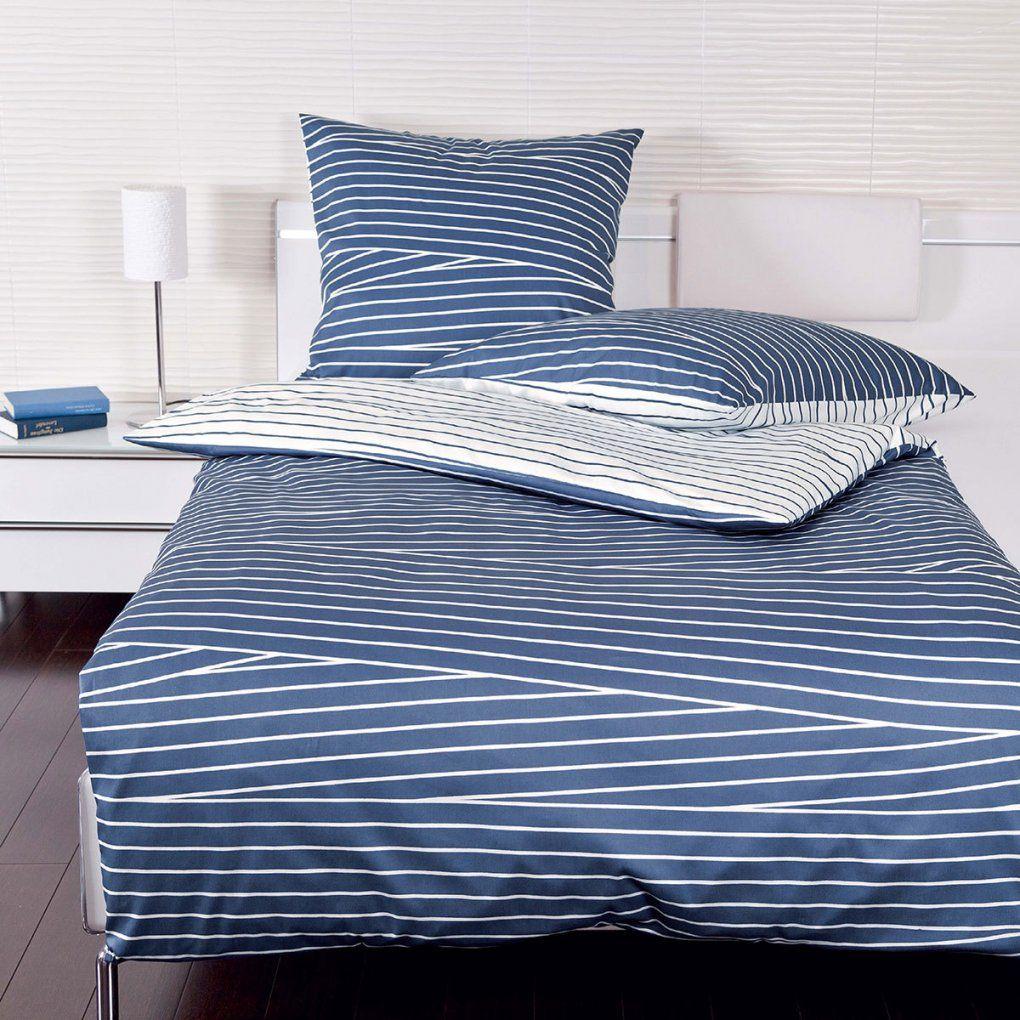 Janine Makosatin Bettwäsche Jd 8702202 Blau Günstig Online von Satin Bettwäsche Blau Bild
