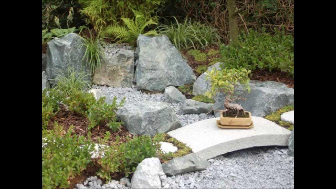 Ideen Deko Kleiner Japanischer Garten Brunnen Steine Garden Ideas ...