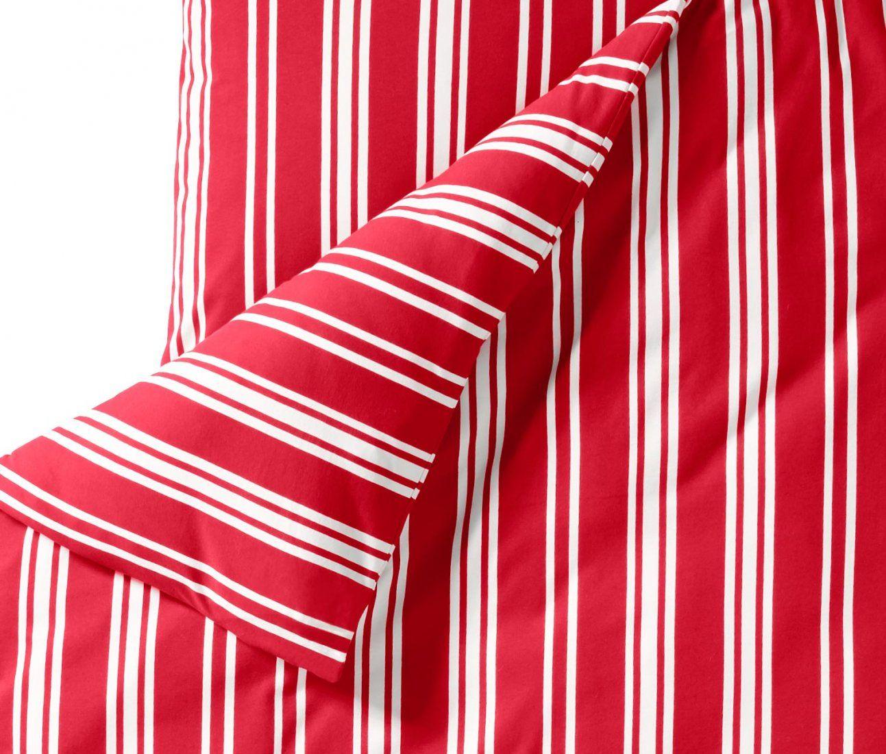 Jerseybettwäsche Rotweiß Gestreift Online Bestellen Bei Tchibo 309832 von Tchibo Bettwäsche Jersey Photo