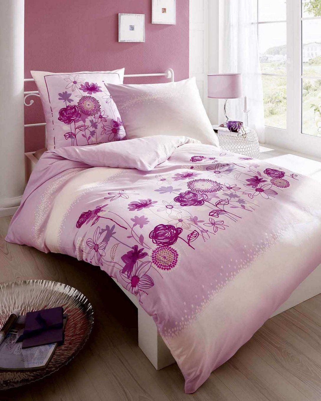 Jetzt Günstig Kaufen Kaeppel Satin Bettwäsche Innocent Blumen Rosa von Blumen Bettwäsche Rosa Bild