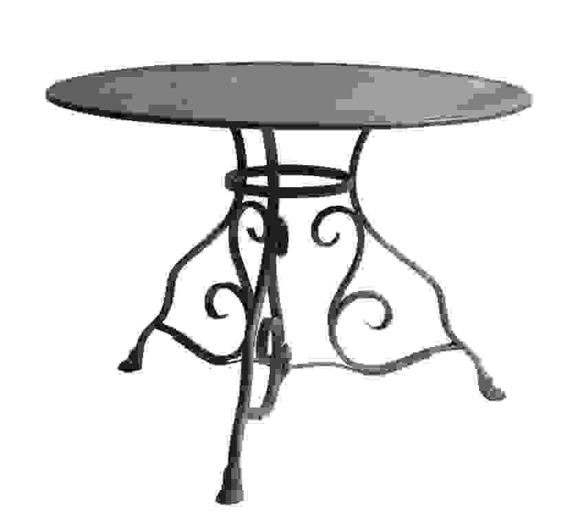 Jonas Gartentisch Metall Vintage Gartentisch Rund 105 Cm Konzept Von von Gartentisch Rund 60 Cm Metall Bild