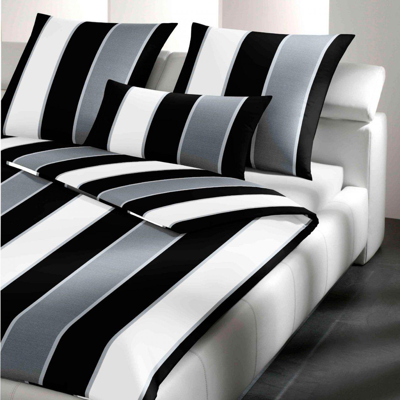 Joop Bettwäsche Lines 40550 Schwarz Weiß von Joop Bettwäsche Weiß Bild