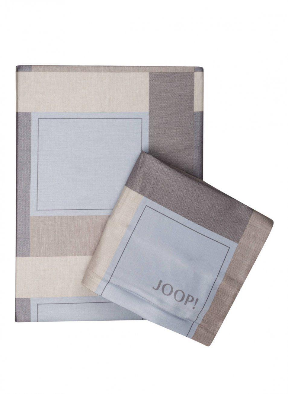 Joop Bettwäsche New Squares 155 X 220 Cm Grau Braun Natur von Joop Bettwäsche 155X220 Reduziert Bild