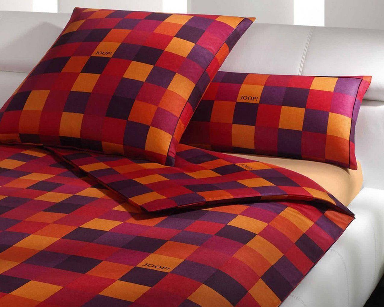 Joop Mosaik Bettwäsche Rot 400301 Kaufen • Slewo von Joop Bettwäsche 155X220 Photo