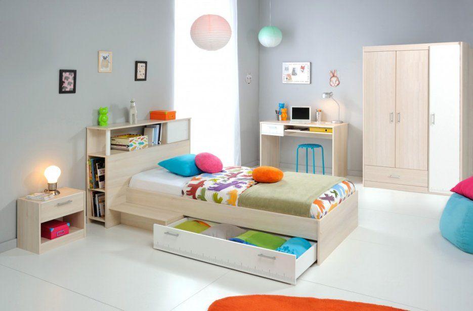 Jugendzimmer Chiron 10 Akazie Nb Bett Regal Nako Schreibtisch von Kinderbett Mit Schreibtisch Und Kleiderschrank Bild
