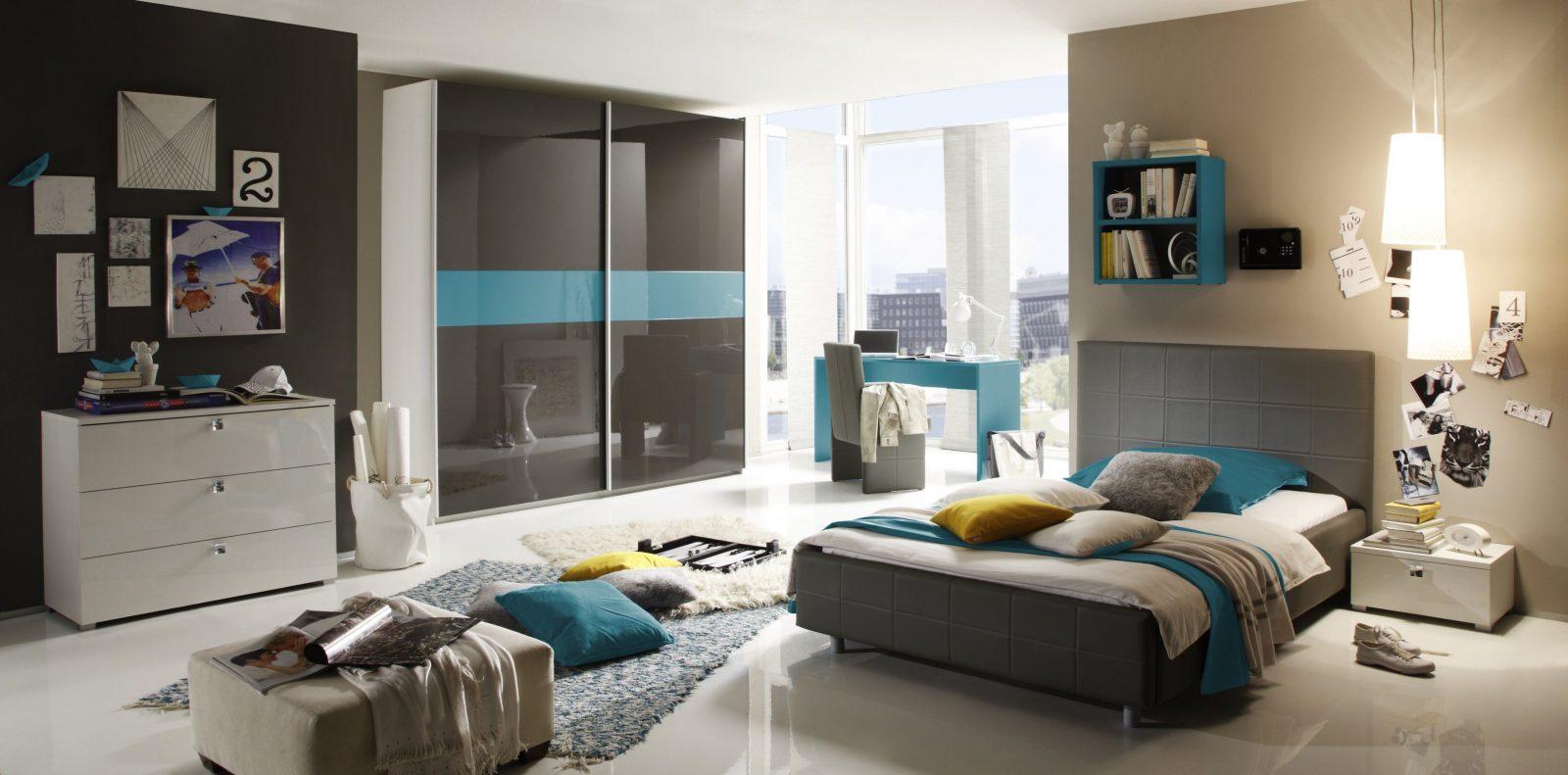 ... Jugendzimmer Für Jungs Modern Blau Ebenfalls Von Jugendzimmer Für Jungs  Modern Bild