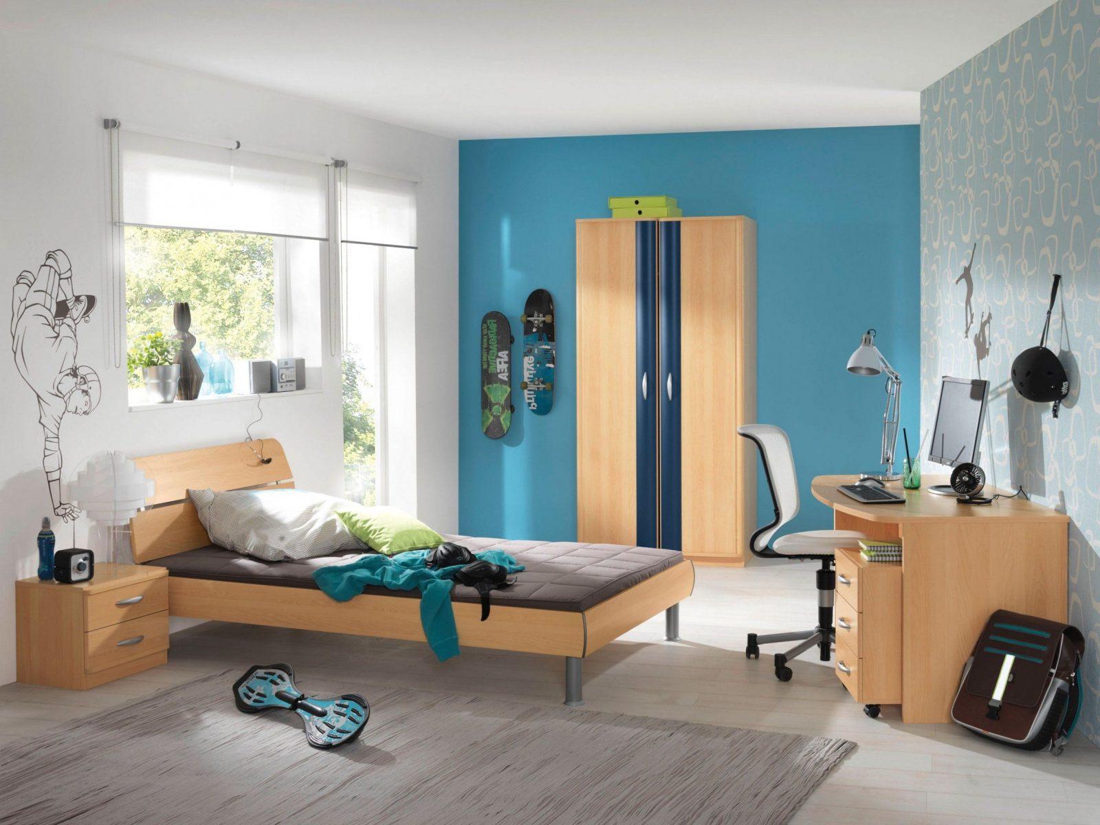 GroBartig Jugendzimmer Jungen Wandgestaltung Mit Gut Blau Komplett Von Jugendzimmer Wände  Gestalten Ideen Photo