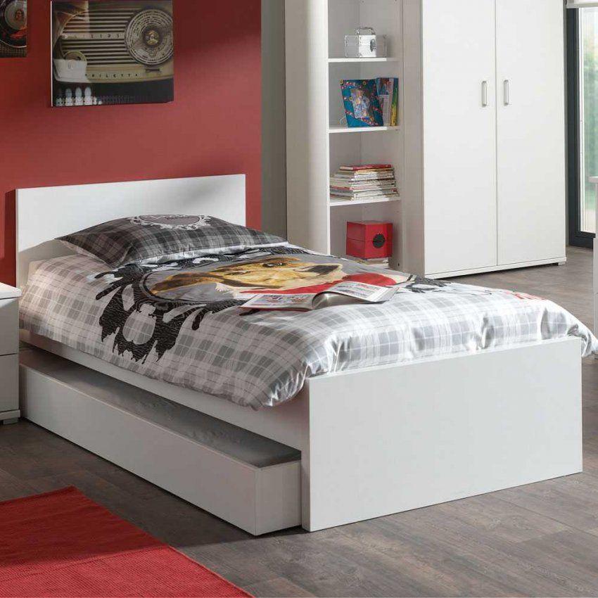 Jugendzimmerbett Snog In Weiß Mit Bettschublade Pharao24 von Jugendzimmer Bett Mit Bettkasten Bild