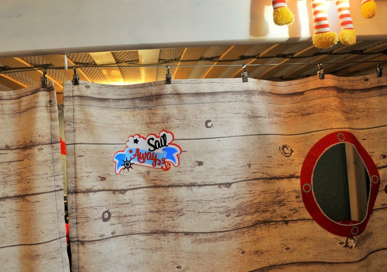 Julchens Kaffeeklatsch Nähen Diy (Pimp My Hochbett) von Vorhang Für Hochbett Selber Nähen Bild