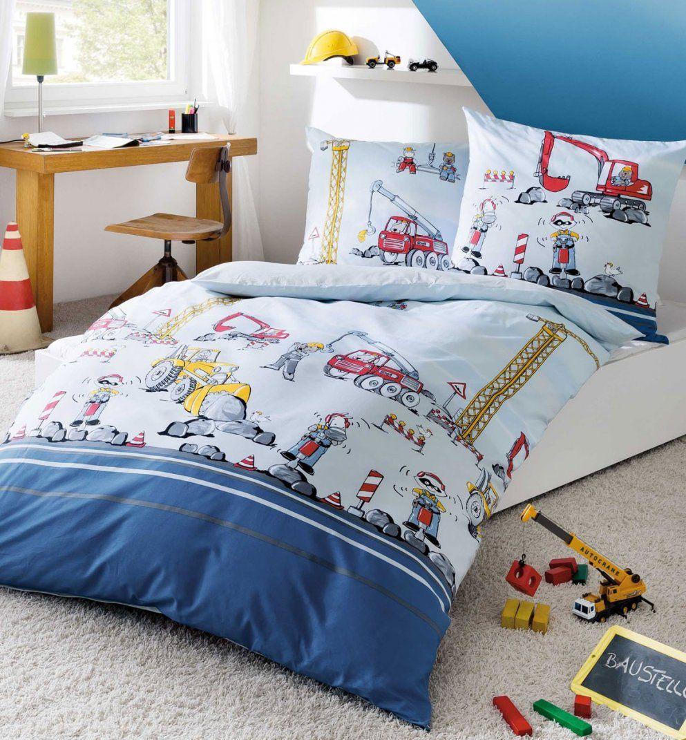 Kaeppel Biber Kinder Bettwäsche Babybettwäsche 100X135  40X60 680 von Kinderbettwäsche Biber 100X135 Bild