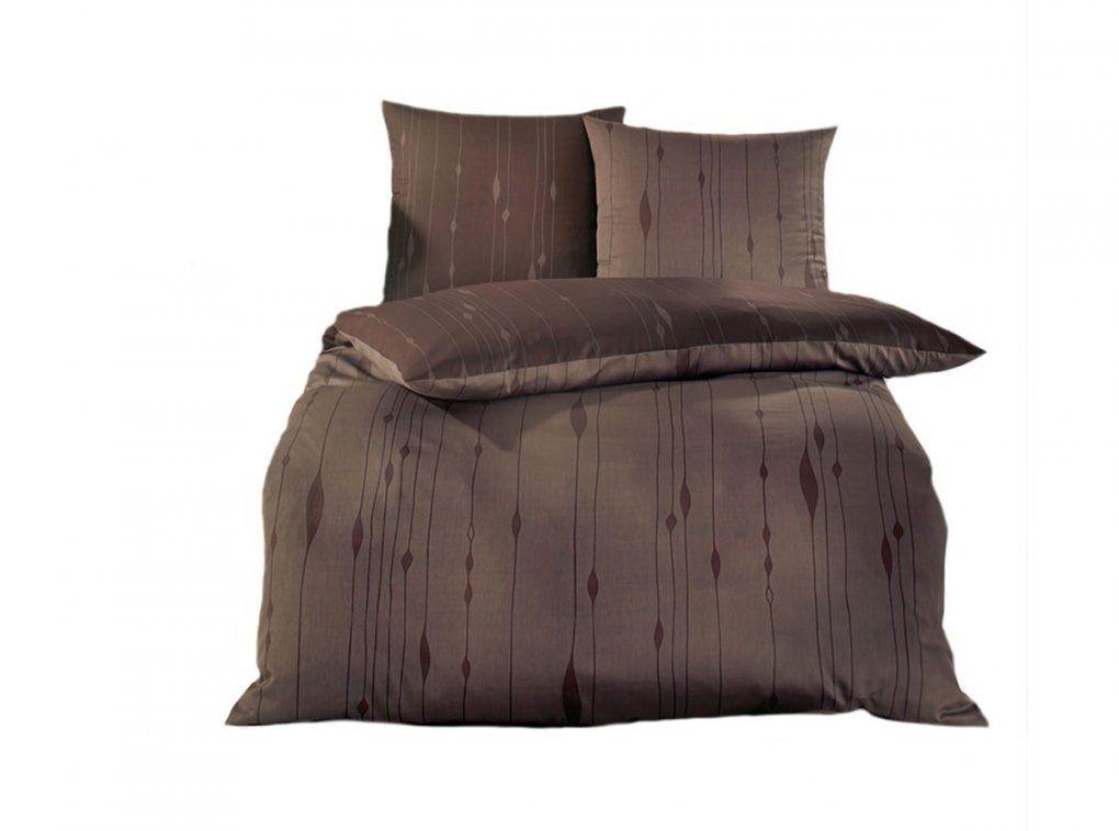 Kaeppel Makosatinbettwäsche Cocoon Braun  Bettenriese von Glanz Satin Bettwäsche Uni Bild
