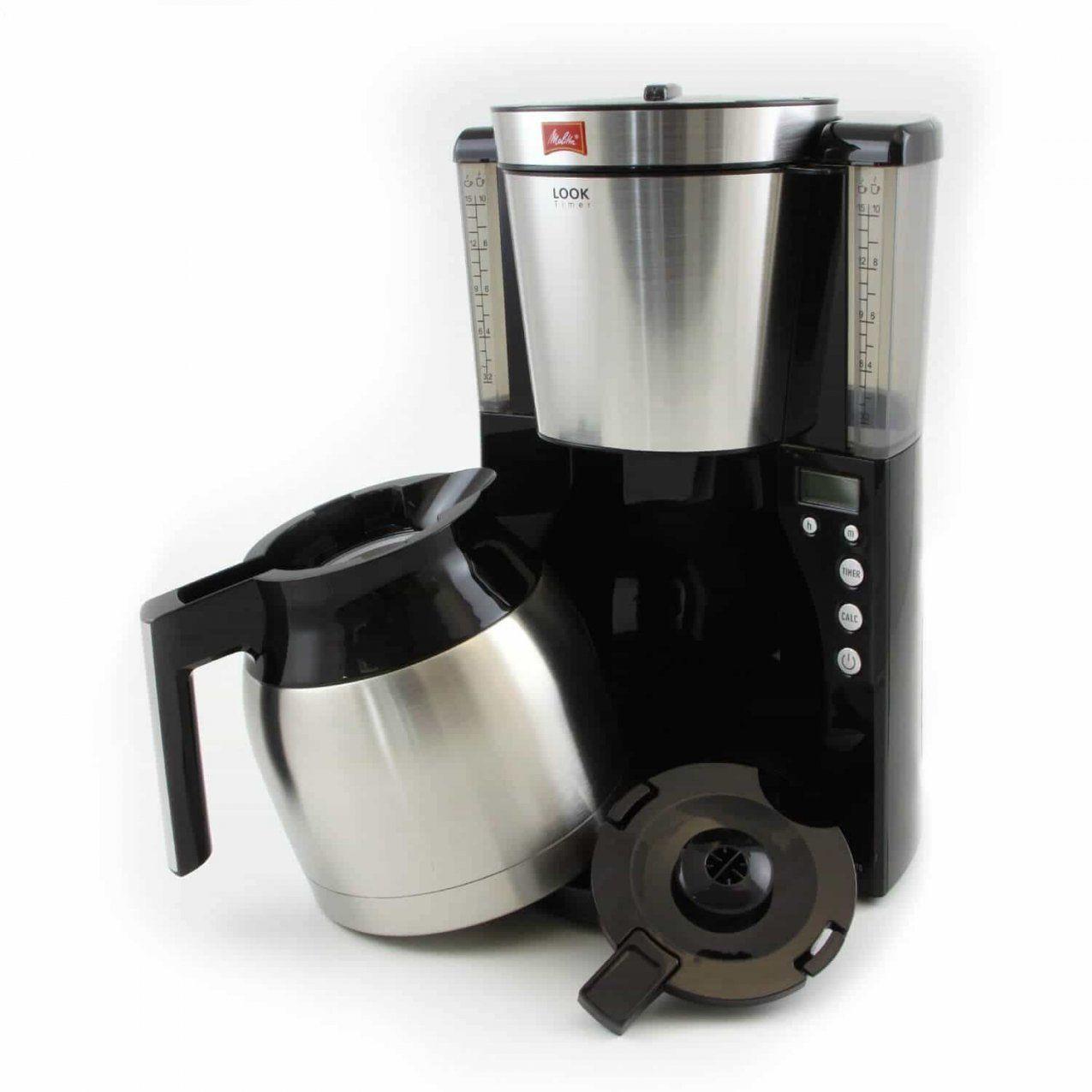 Kaffeemaschinen Test 2018 & Preisvergleich von Melitta Kaffeemaschine Mit Abnehmbaren Wassertank Und Thermoskanne Bild