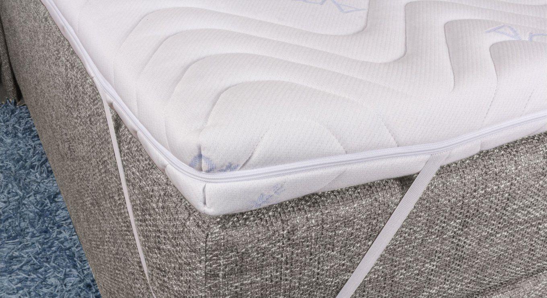 Kaltschaumtopper Weich Für Ihr Boxspringbett  Betten von Harter Topper Für Boxspringbett Bild