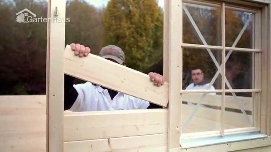 Kapitel 4 & 5 Gartenhaus Fußboden Fenster Und Türrahmen Montieren von Fenster Selber Bauen Gartenhaus Photo