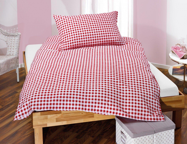 Karierte Bettwäsche Im Landhausstil Rotweiss ⋆ Lehner Versand von Rot Weiß Karierte Bettwäsche Bild