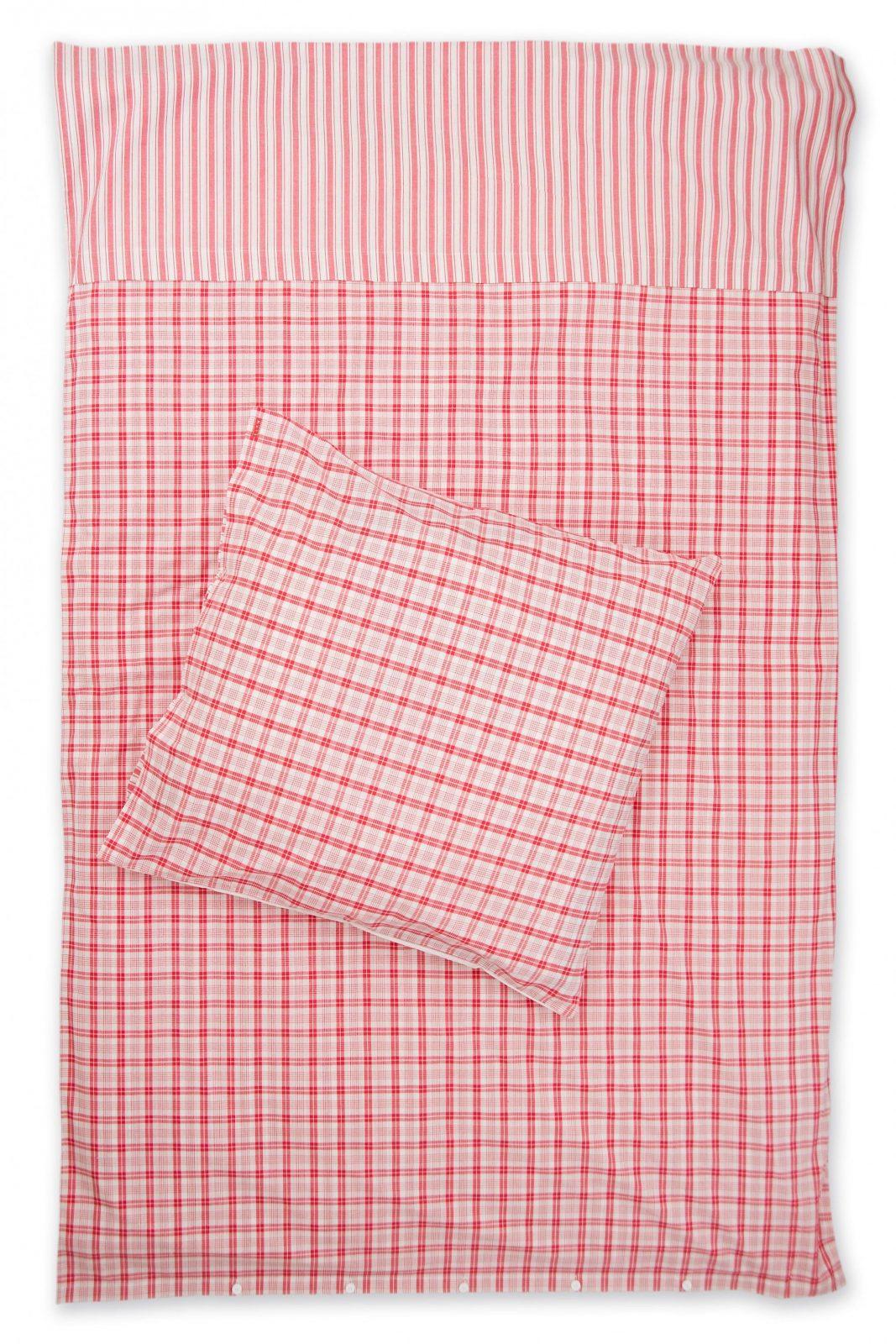 Karierte Bettwäsche Rot Weiß Mit Streifen Weiß Rot Karierte von Rot Weiß Karierte Bettwäsche Bild