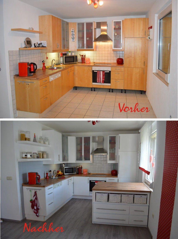 K%c3%bcche1 1194×1600 Pixel  Ideen Wunneng  Pinterest von Küche Neu Gestalten Renovieren Photo