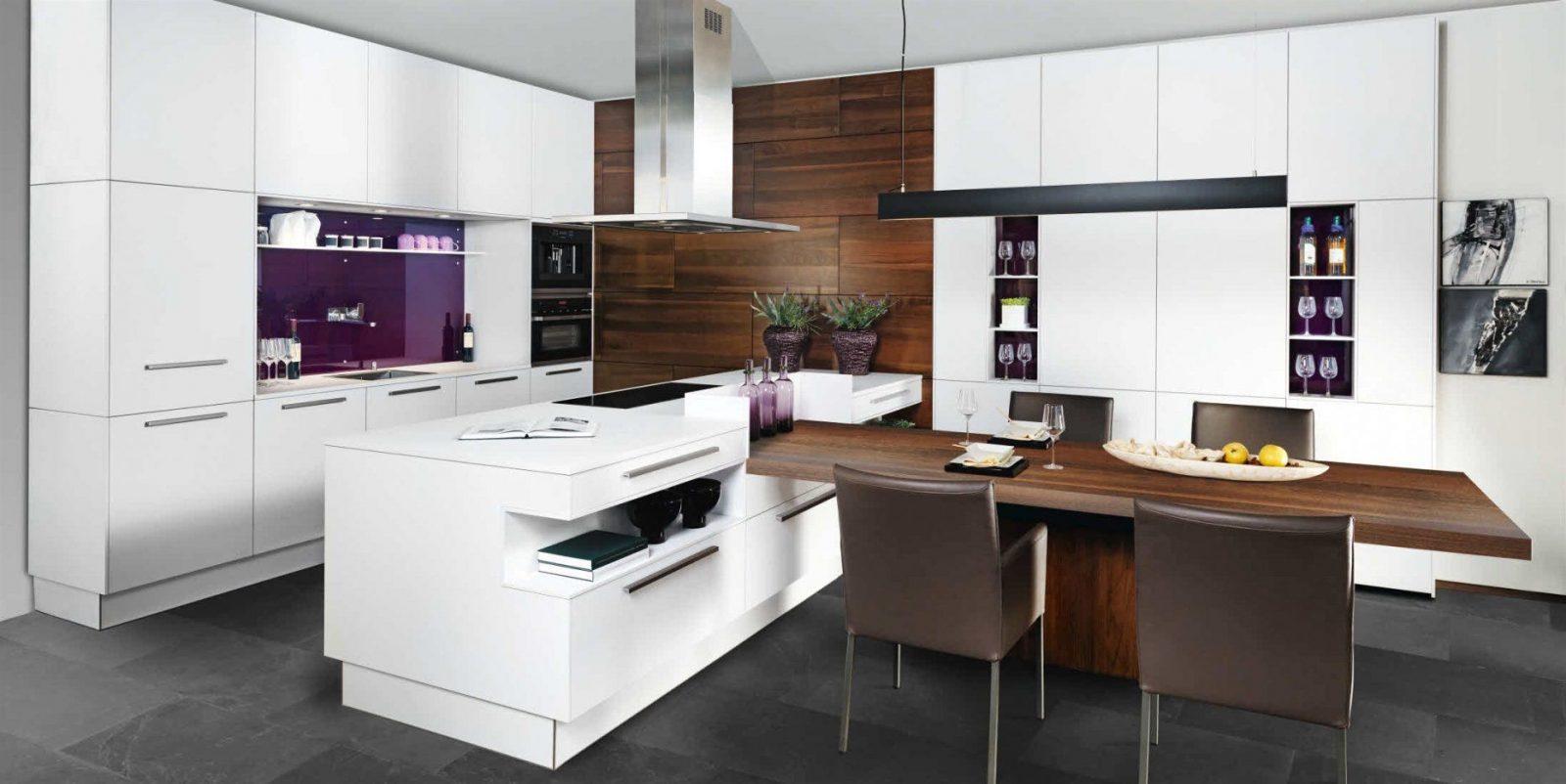 Kche Mit Kochinsel Und Tisch New Theke Haus Dekoration Esstisch von Küche Mit Integriertem Tisch Photo