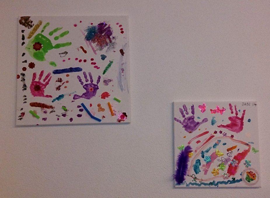 Keilrahmen Gestalten Vorlagen Ideen Mit Leinwand Gestalten Das Beste von Leinwand Gestalten Mit Kindern Bild