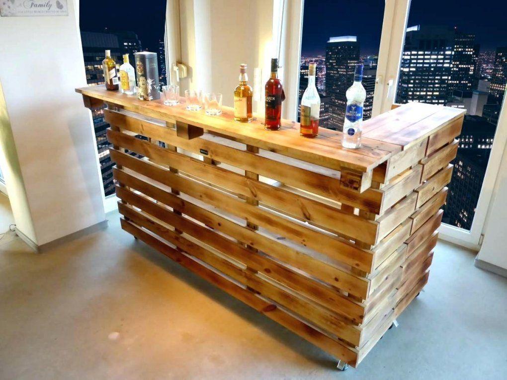 Kellerbar Bauen Bar Aus Paletten Cool Hausbar Selber Theke Bauplan