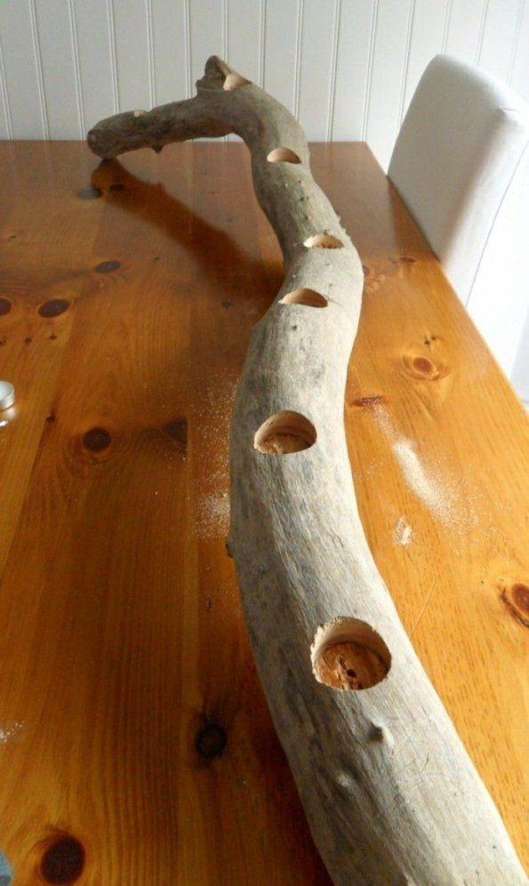 Kerzenhalter Basteln  35 Beispiele Dass Kerzenhalter Nicht Nur von Kerzenständer Selber Machen Holz Bild