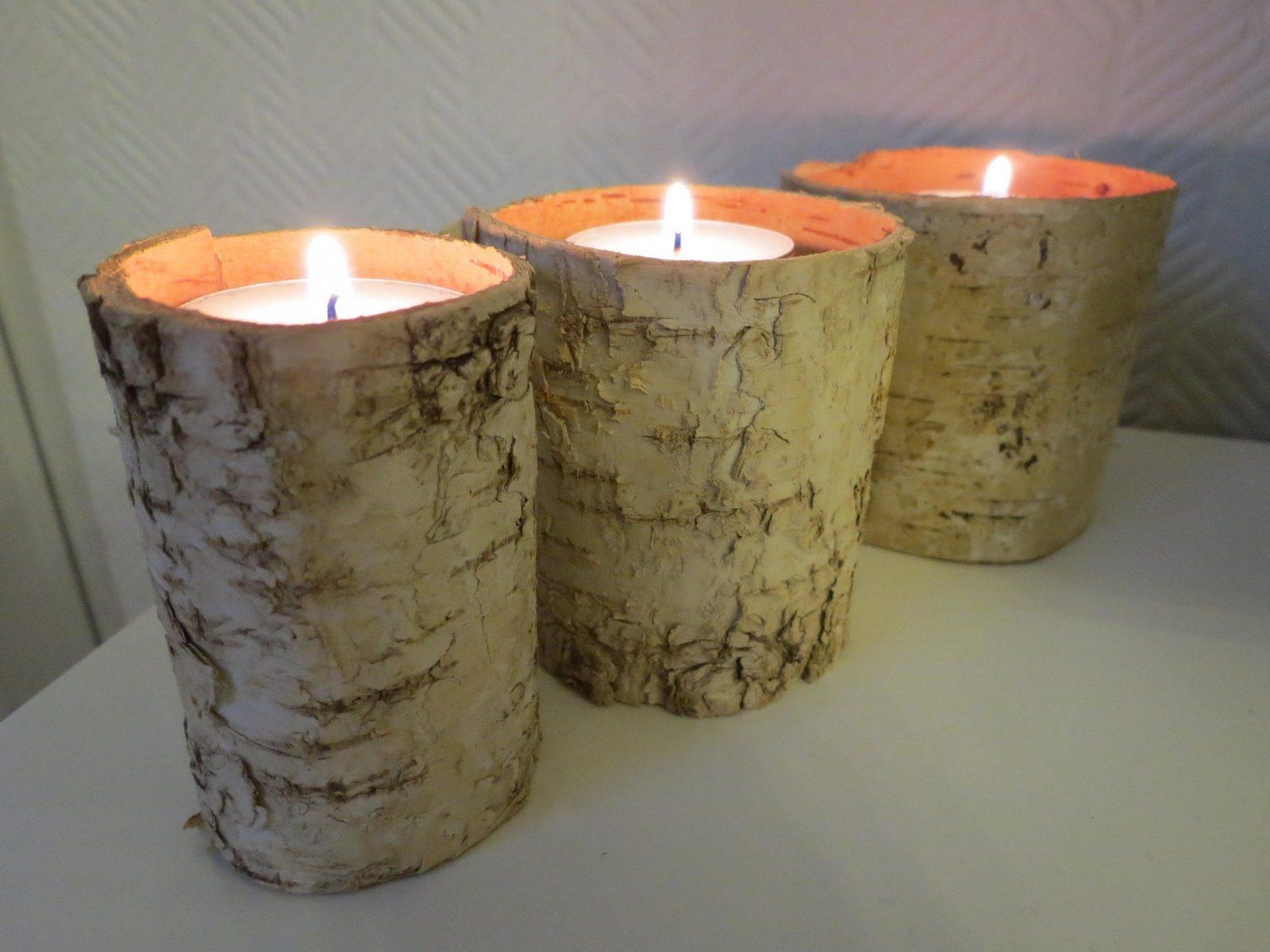 Kerzenhalter Selber Machen * Einfach Schnell & Günstig  Youtube von Kerzenständer Selber Machen Holz Bild