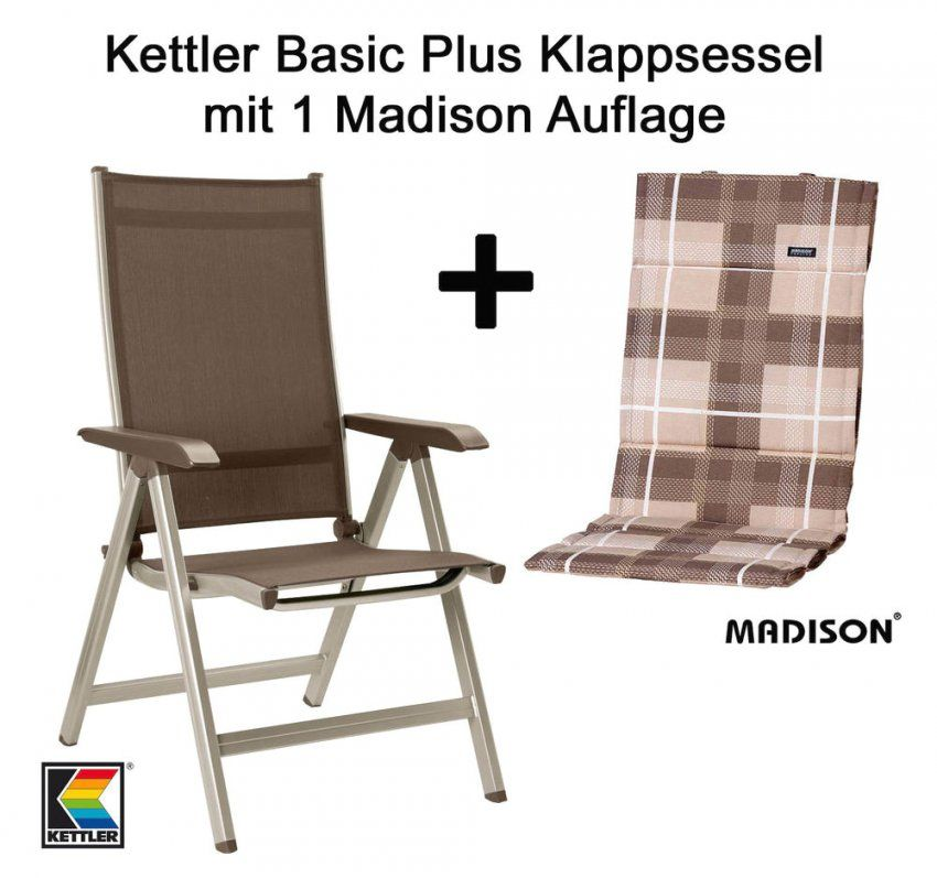 Kettler Basic Plus Klappsessel Mit Neu Auflage 18 Und S L1000 von Kettler Auflagen Basic Plus Photo