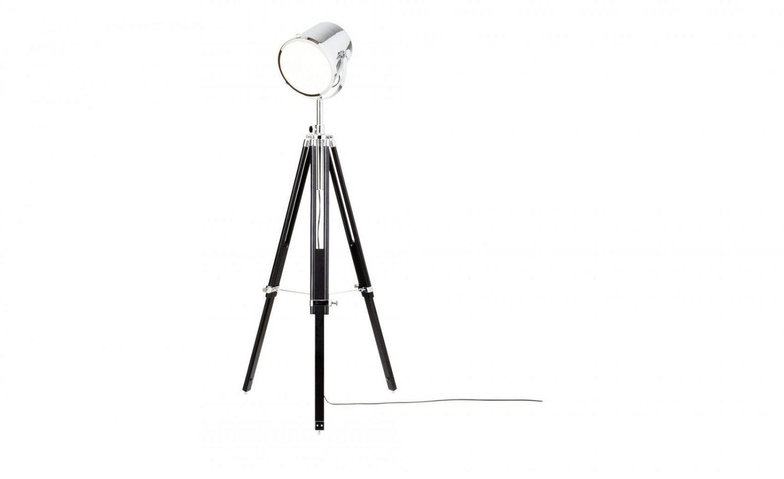 Khg Stehleuchte Im Studiolampendesign  Möbel Höffner von Stehlampe Mit 3 Beinen Photo