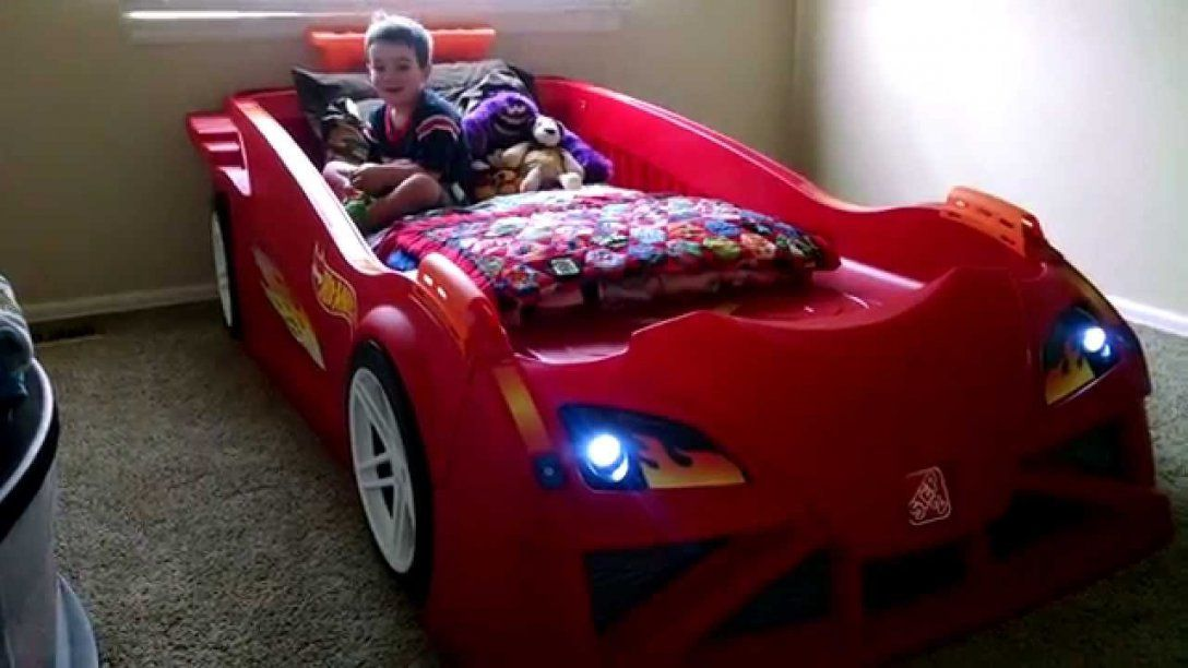 Kid Pov  Hot Wheels™ Toddler To Twin Race Car Bed™  Youtube von Toddler Car Bed For Boys Bild