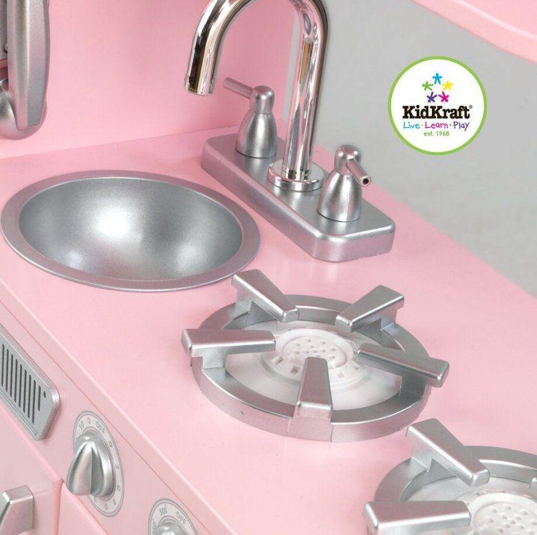 Kidkraft 53179 Rosa Retro Küche  Kidkraft  Maxisbabywelt von Kidkraft Retro Küche Rosa Bild