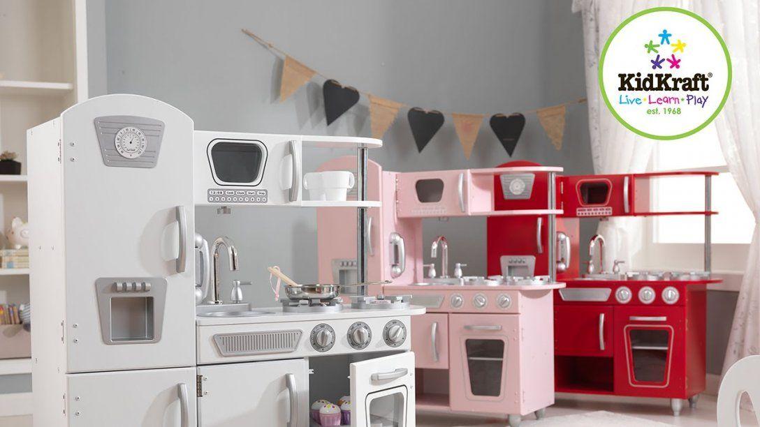 Kidkraft Retro Küche  Kinderspielküche Weiss Rosa Rot Top Qualität von Kidkraft Retro Küche Rosa Photo