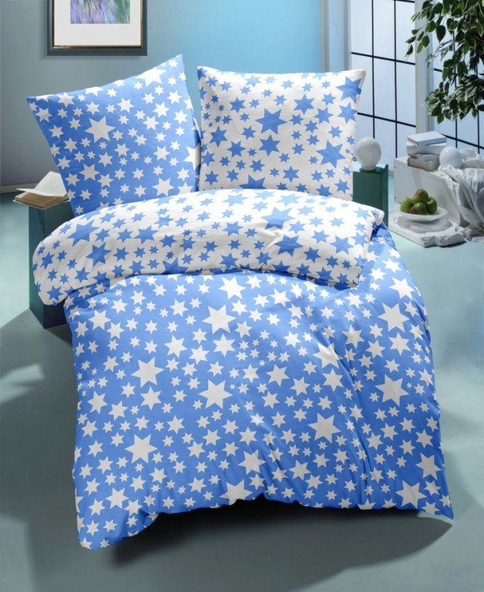 Kinder Baby Renforce Wende  Bettwäsche 100X135Cm Kissen 40X60Cm von Bettwäsche Kinder Sterne Bild