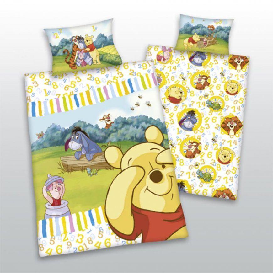 Kinder Bettwäsche Winnie Pooh 100X135 40X60 Cm  Real von Bettwäsche Winnie Pooh 100X135 Bild