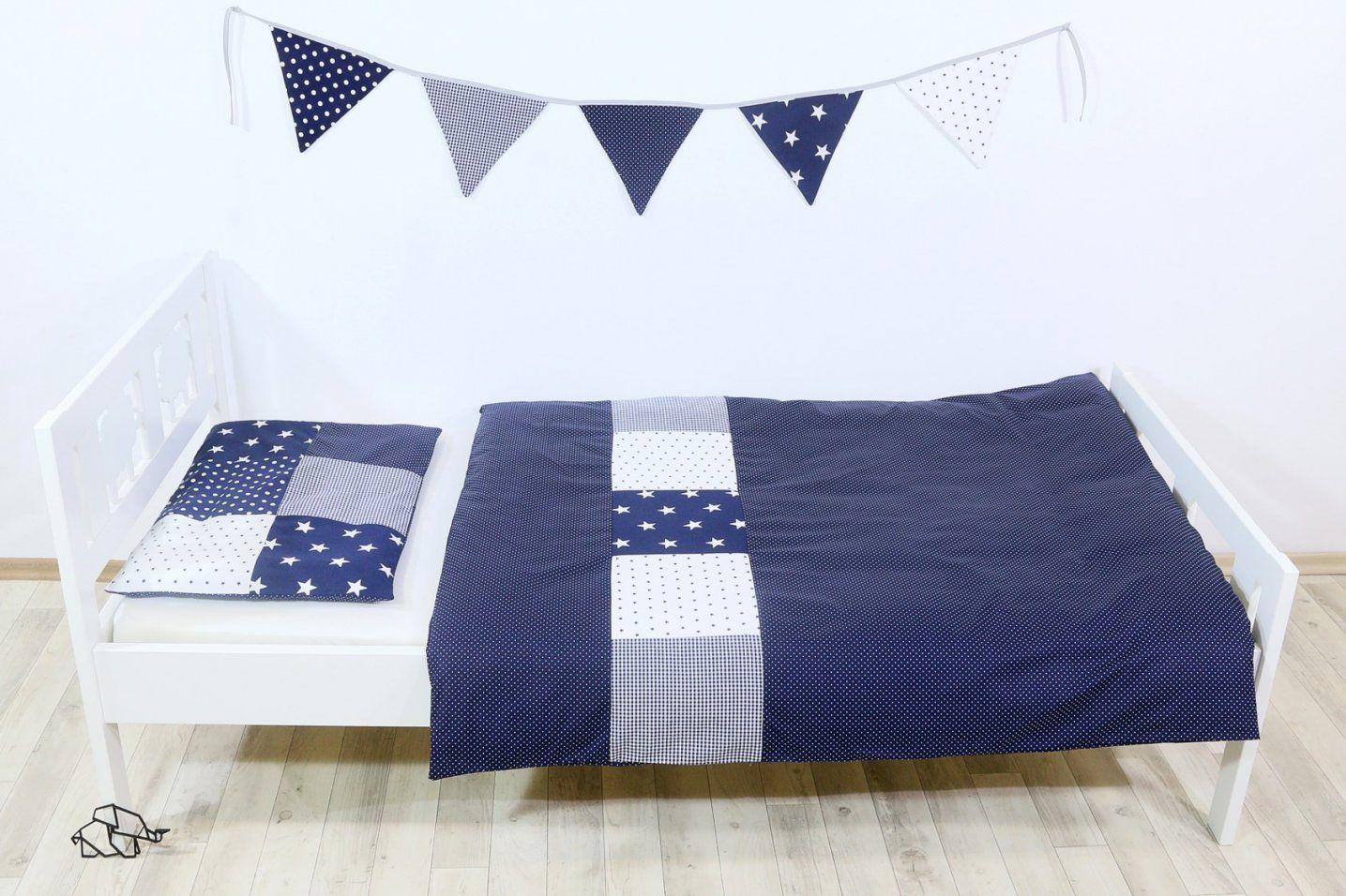 Kinder Bettwäscheset 100X135 Cm Und Kissenbezug 40X60 Cm  Blaue von Bettwäsche 100X135 Sterne Photo
