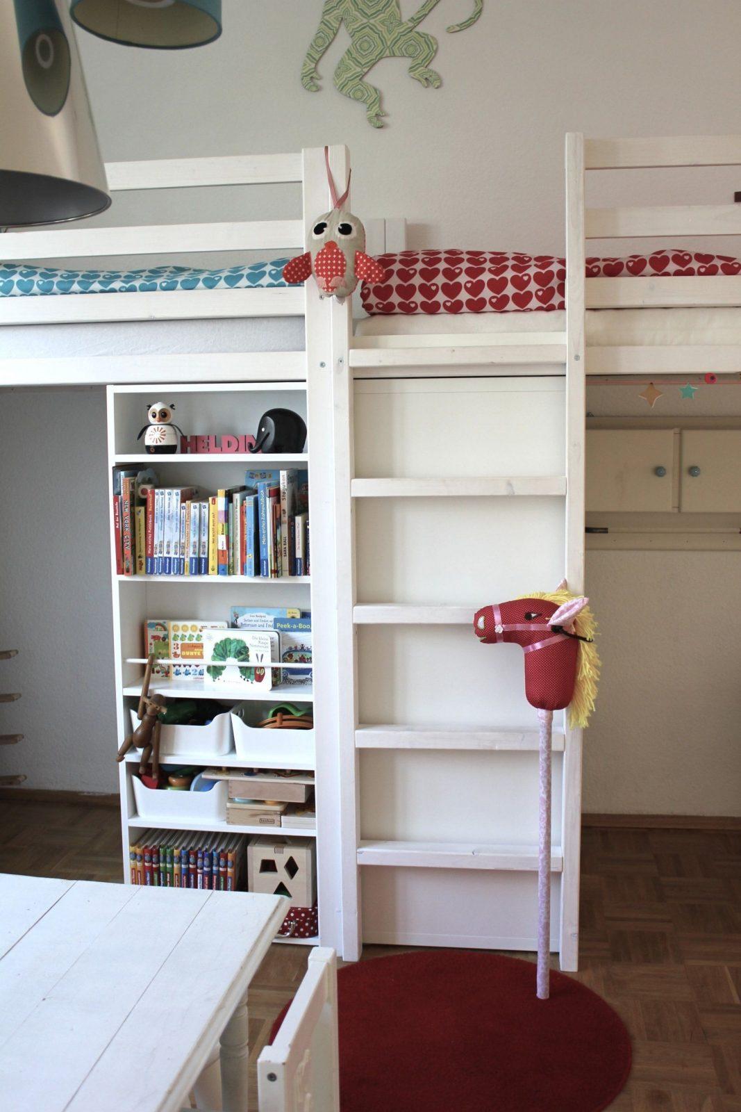 Kinder Doppelhochbett Diy  Kinderzimmer Und Co  Pinterest von Doppel Hochbett Selber Bauen Bild