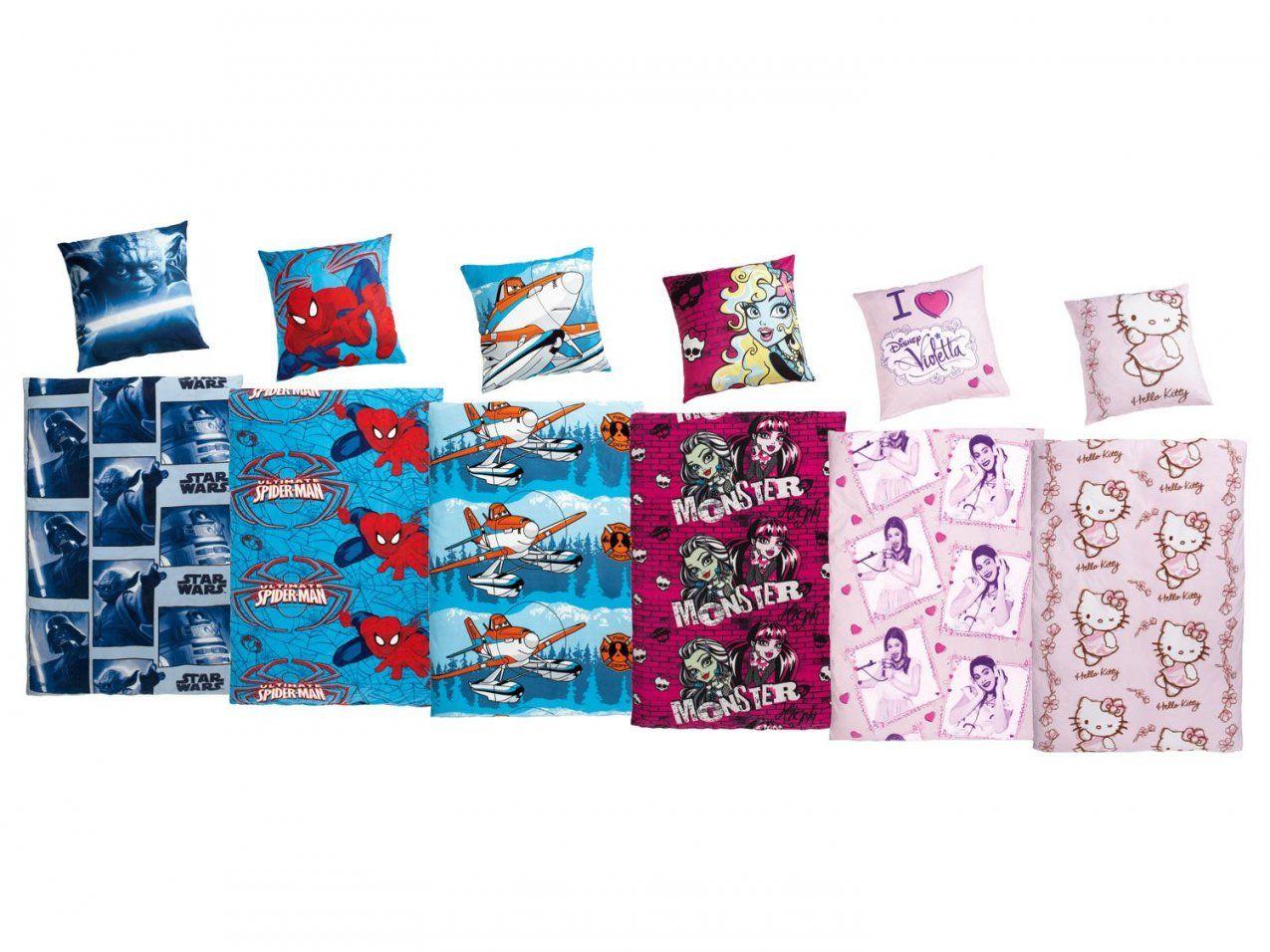Kinder Fleecebettwäsche 135 X 200 Cm  Lidl Deutschland  Lidl von Hello Kitty Bettwäsche Lidl Bild