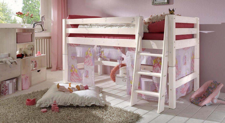 Kinder Hochbett Prinzessin Günstig Kaufen  Betten von Kinderhochbett Mit Rutsche Günstig Kaufen Bild