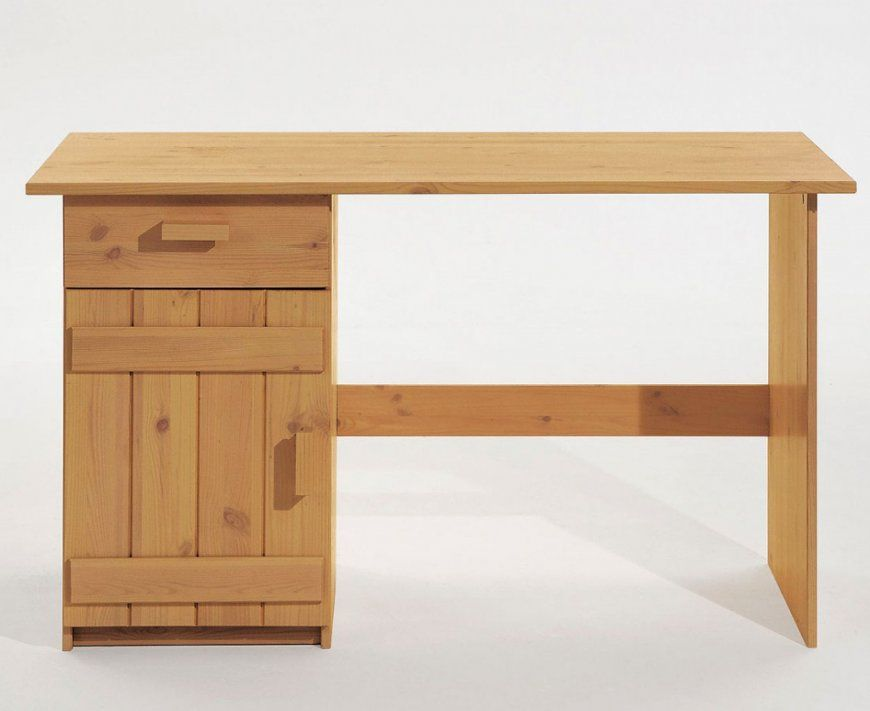 Kinder Schreibtisch Kiefer Massiv Gelaugt Holz Möbel Pctisch von Schreibtisch Kiefer Massiv Gelaugt Geölt Bild