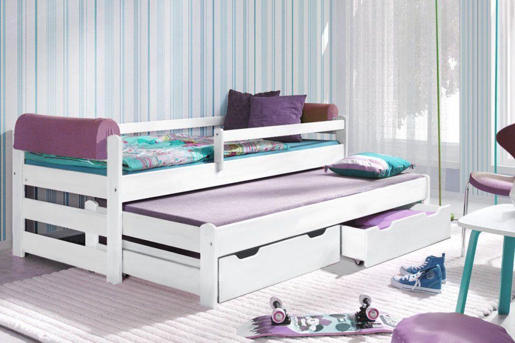 kinderbett ausziehbett doblo bis inkl lattenroste und schublade von kinderbett weiss mit. Black Bedroom Furniture Sets. Home Design Ideas