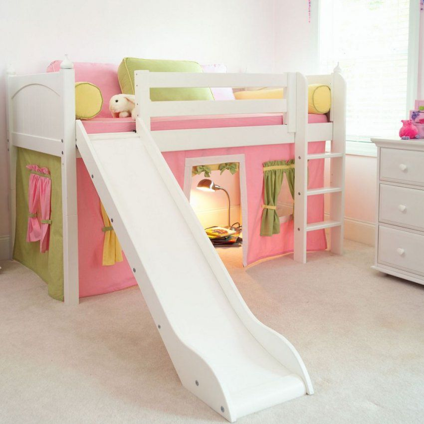 Kinderbett Bauen Bauanleitungen Für Hochbett Etagenbett Spielbett von Bett Rutsche Selber Bauen Bild