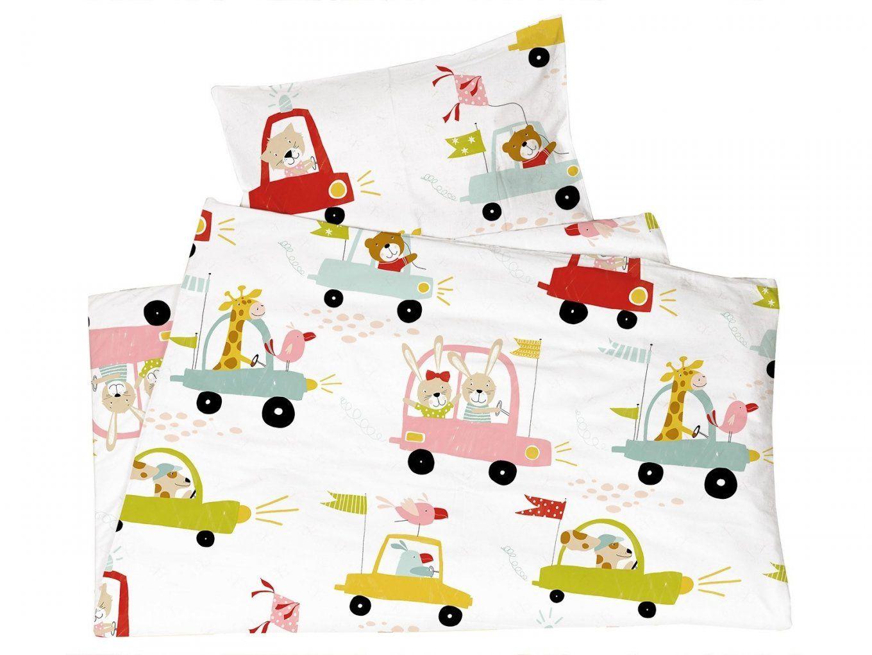 Kinderbettwäsche Biobaumwolle Jersey Autos Von We Love Nature von Kinderbettwäsche 100X135 Bio Photo
