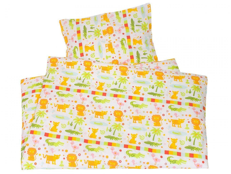 Kinderbettwäsche Biobaumwolle Rain Forest Fun Von We Love Nature von Kinderbettwäsche 100X135 Bio Bild