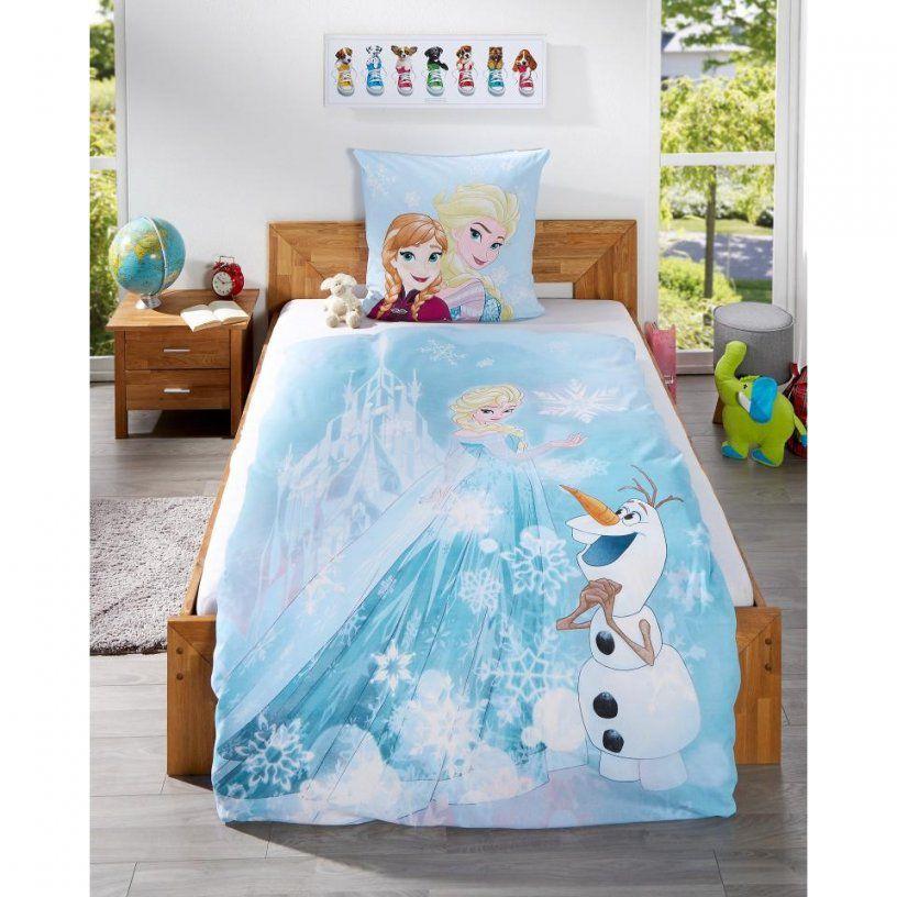 Kinderbettwäsche Eiskönigin (135X200)  Dänisches Bettenlager von Anna Und Elsa Bettwäsche Aldi Bild