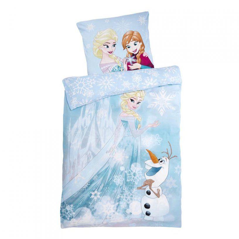 Kinderbettwäsche Eiskönigin (135X200)  Dänisches Bettenlager von Frozen Bettwäsche Aldi Photo