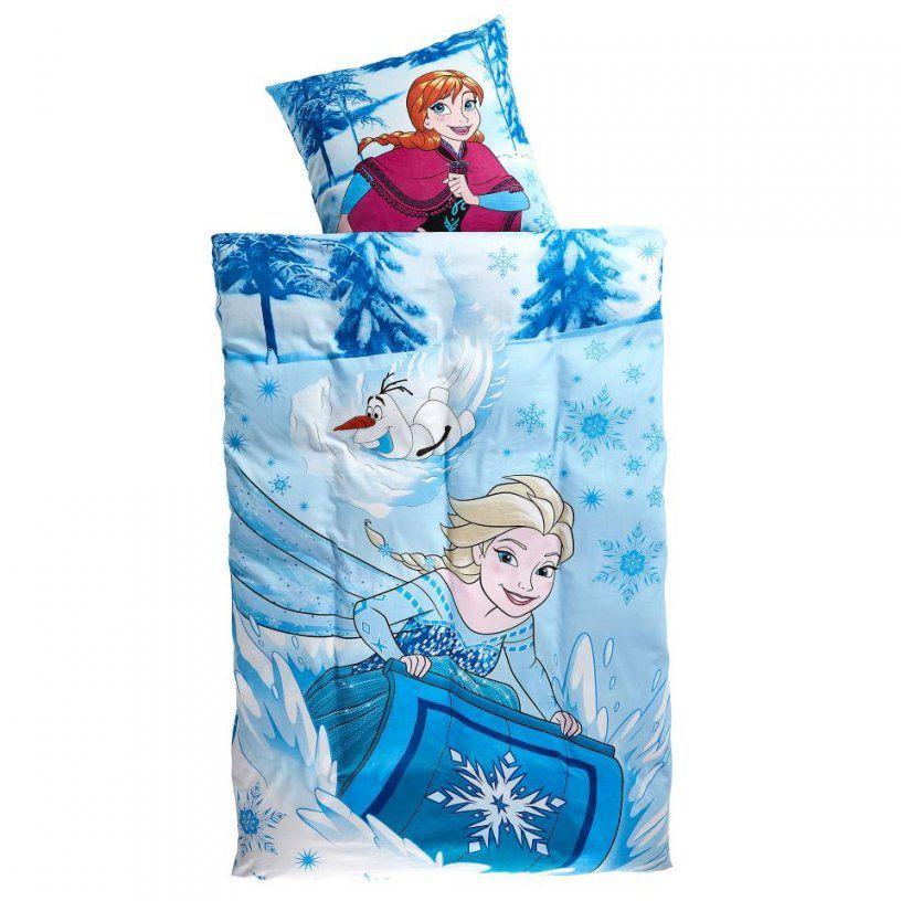 Kinderbettwäsche Eiskönigin Cool (140X200)  Dänisches Bettenlager von Kinderbettwäsche Eiskönigin 100X135 Bild