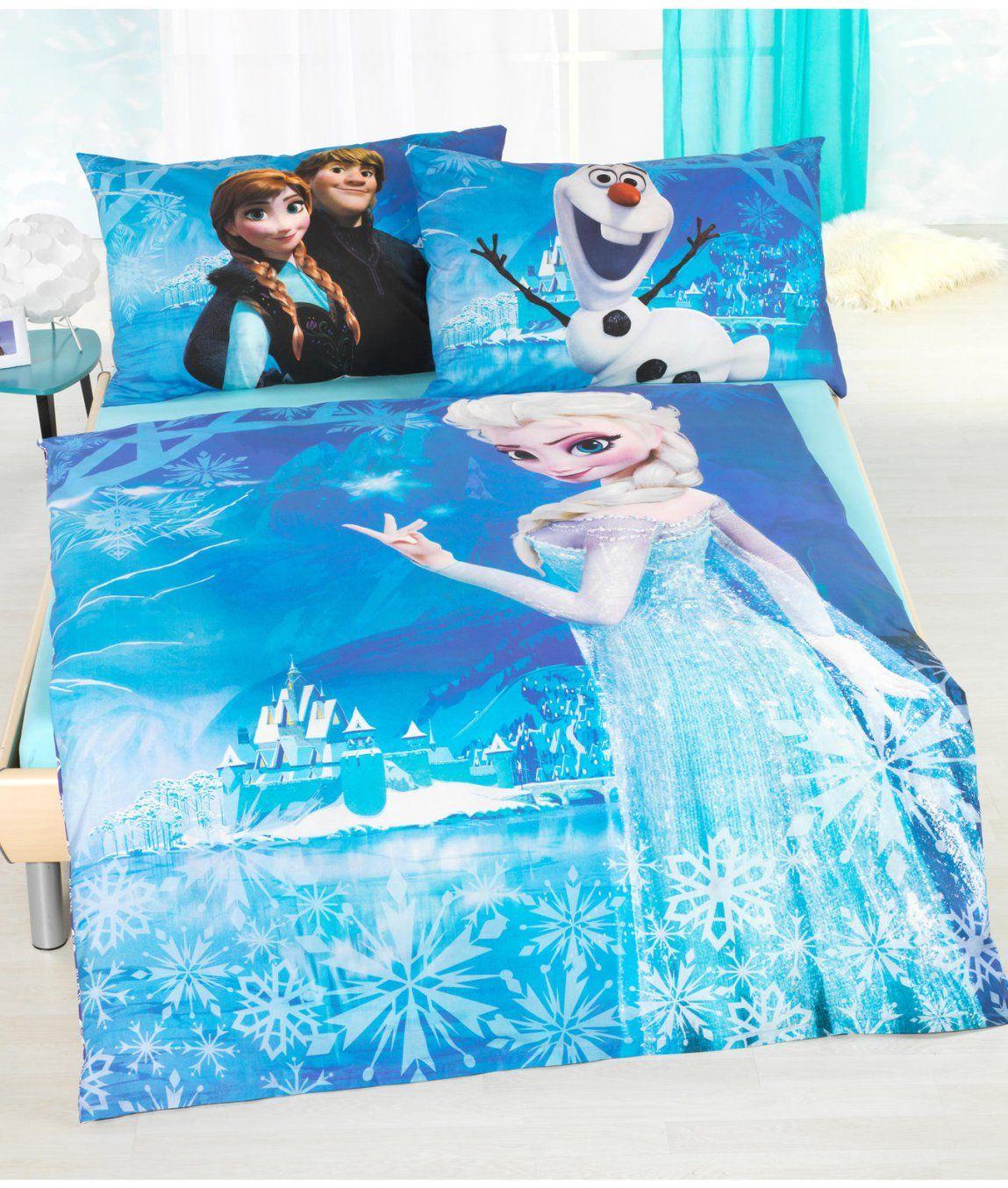 Kinderbettwäsche Garnitur Frozen Kaufen  Angela Bruderer Onlineshop von Elsa Bettwäsche Aldi Photo