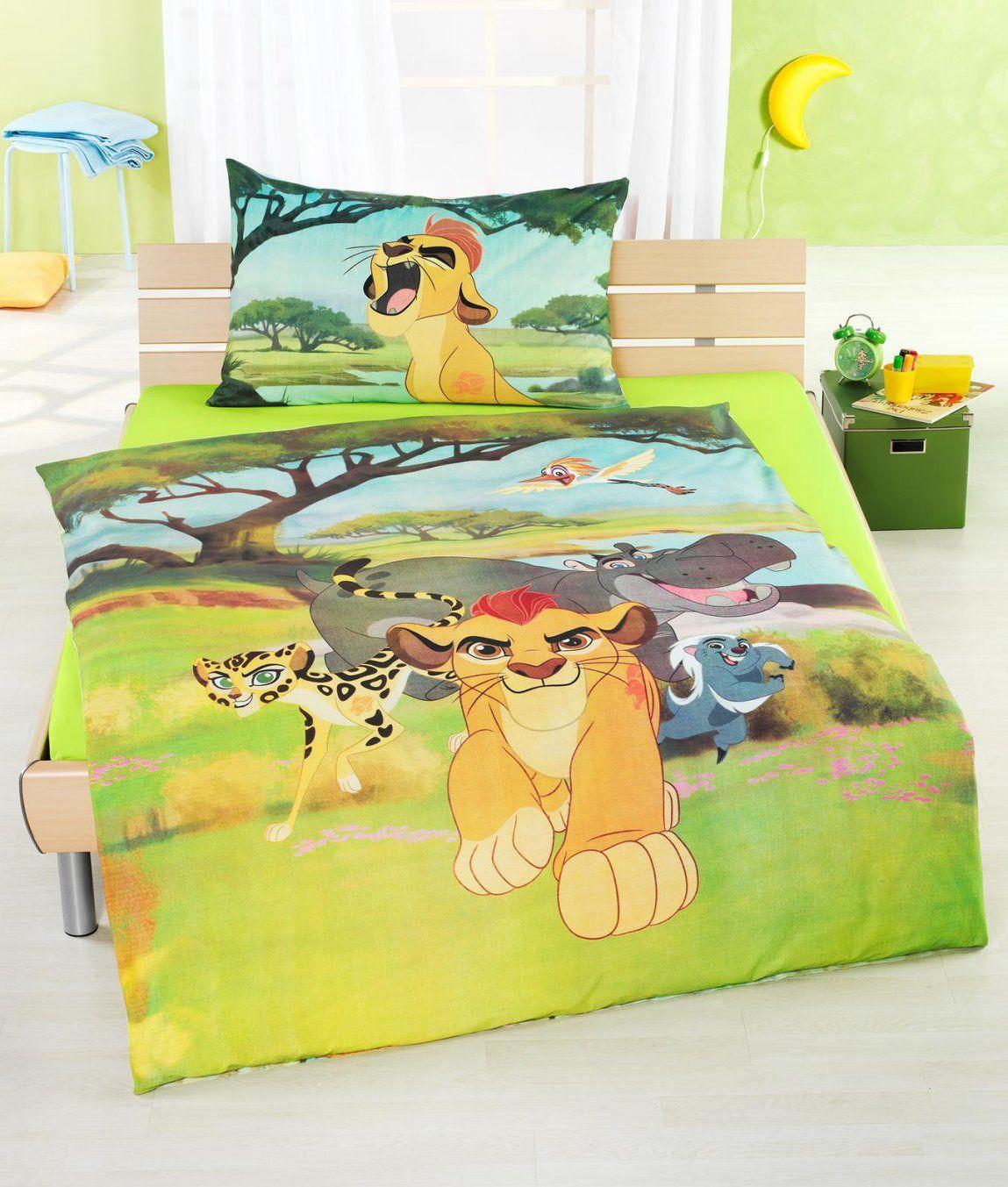 Kinderbettwäsche Garnitur Lion King Kaufen  Angela Bruderer Online von Garde Der Löwen Bettwäsche Bild