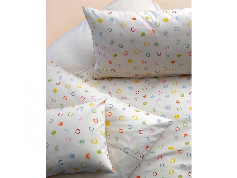 Kinderbettwäsche Kritzelkreise Von Cotonea 100X135 Und 40X60 Cm von Kinderbettwäsche 100X135 Bio Photo