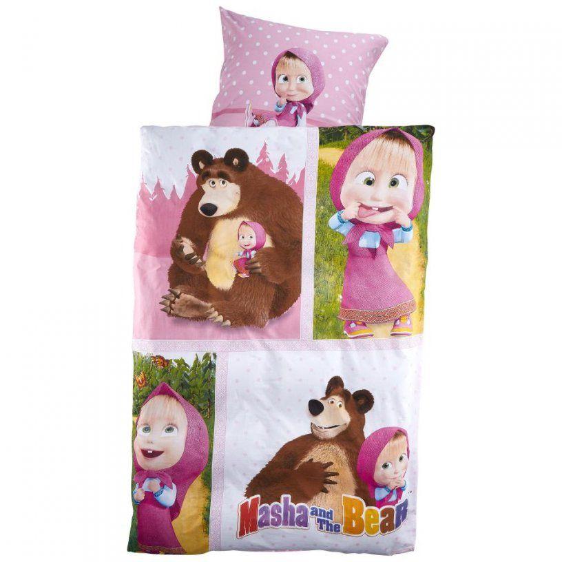 Kinderbettwäsche Mascha Und Der Bär 135x200 Preiswert Dänisches